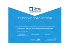 百度飞桨携手LF开源软件大学推出国内首个深度学习联合认证!