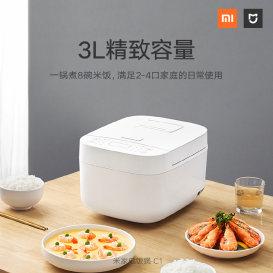 米家电饭煲C1开启众筹:支持24种烹饪模式,售价129元